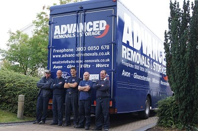 House removals company Almondsbury